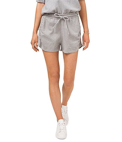 1. STATE Ruched Side Seam Pull-On Knit Short