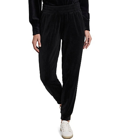 1. STATE Velour Pull-On Elastic Jogger Pants