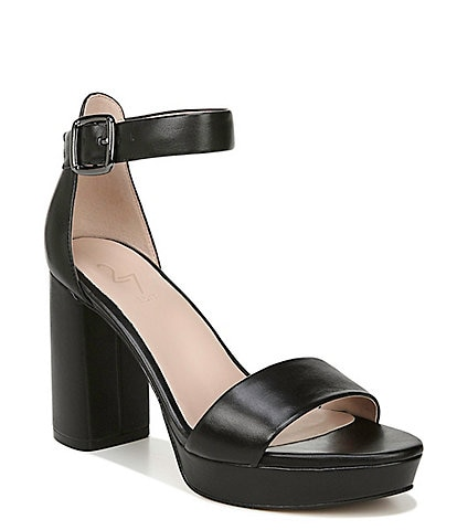 27 EDIT Briar Leather Platform Block Heel Sandals