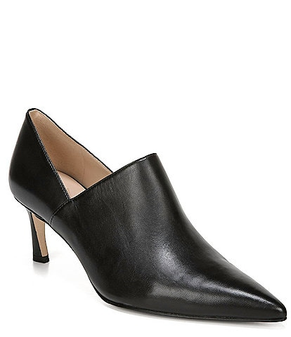 27 EDIT Fanfare Leather Ankle Shooties