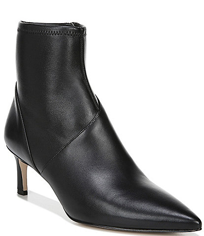 27 EDIT Franca Leather Dress Booties