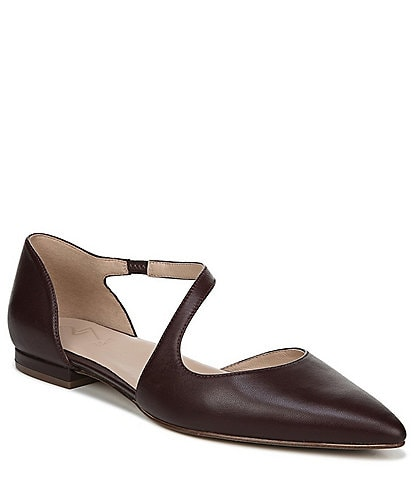 27 EDIT Heather Asymmetrical Dress Flats