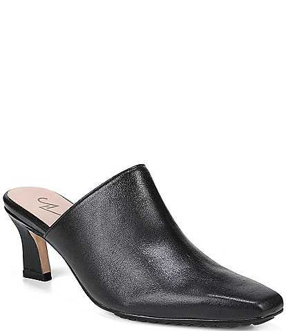 27 EDIT Naturalizer Shellby Leather Mules