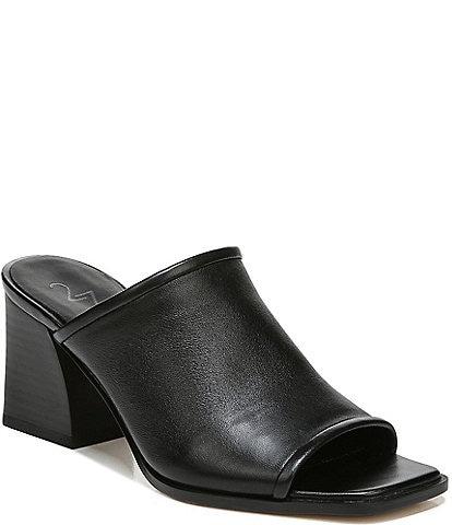 27 EDIT Naturalizer Nolla Stretch Leather Dress Slides