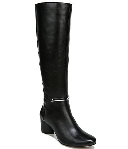 27 EDIT Pauline Leather Tall Boots