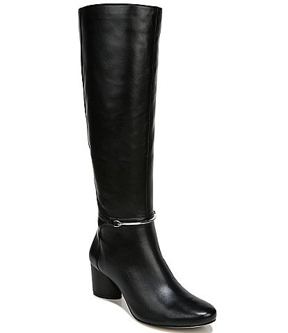 27 EDIT Pauline Wide Calf Leather Boots