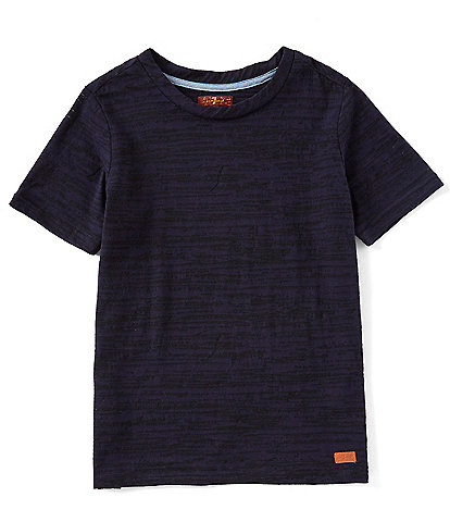 7 for all mankind Big Boys 8-20 Short Sleeve Burnout Tee