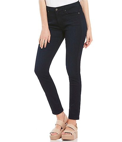 7 for all mankind High Waist Ankle Skinny Jeans