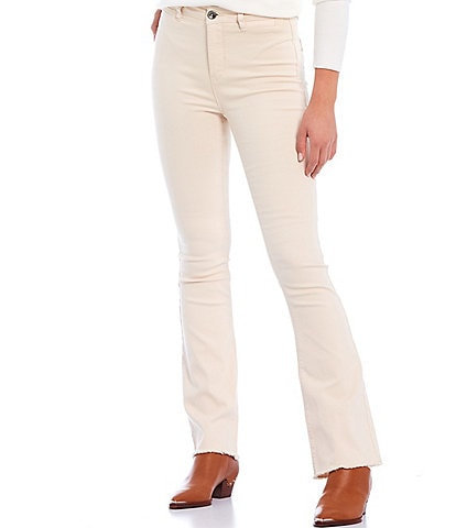 A Loves A 5 Pocket Twill Flare Jeans