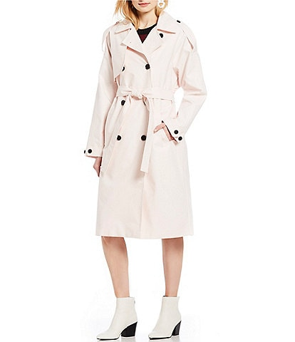 A Loves A Oversize Trench Coat