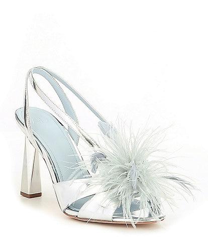 AD & Daughters Brockwayy Metallic Leather Heeled Sandals