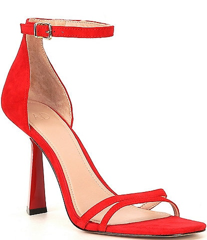 AD & Daughters Celina Suede Ankle Strap Dress Sandals