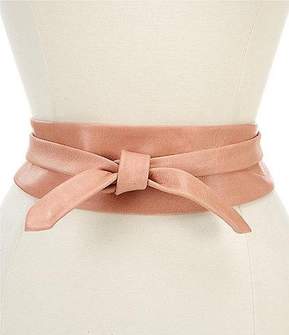 ADA Classic Leather Wrap Belt