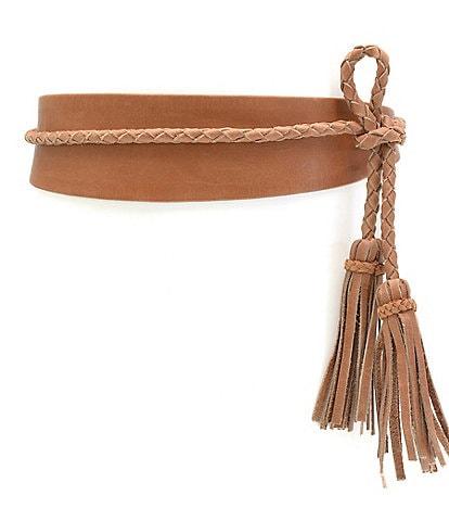ADA Lucky Leather Wrap Belt