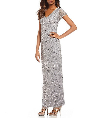 Silver Petite Formal Dresses Gowns Dilllards
