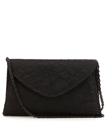 Adrianna Papell Seta Lace Envelope Clutch
