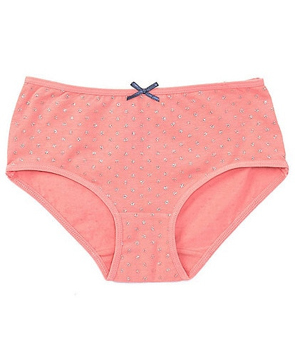 Adventure Wear by Copper Key Little Girls 2T-5 Pink Dots Brief Panties