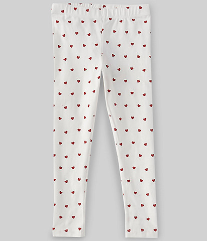 Adventure Wear by Copper Key Little Girls 2T-6X Heart Dot Leggings