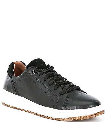 Aetrex Blake Leather Lace-Up Sneakers