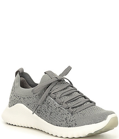 Aetrex Carly Knit Lace-Up Sneakers