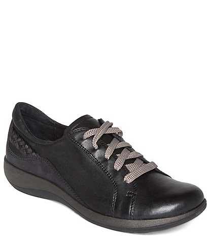 Aetrex Dana Lace Up Leather Oxfords
