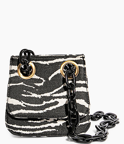 House of Want OG Zebra Print Shoulder Bag