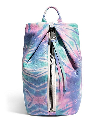 Aimee Kestenberg Tamitha Tie Dye Leather Printed Backpack
