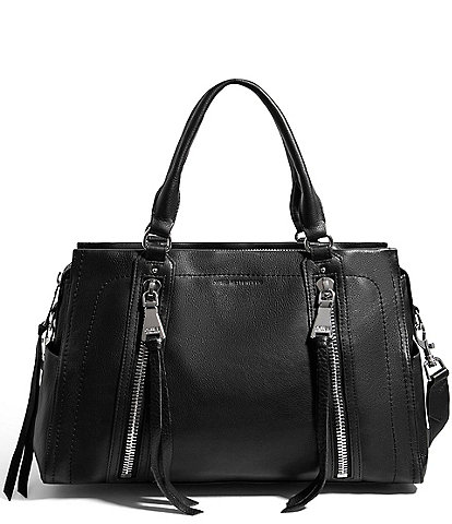 Aimee Kestenberg Zip Me Up Triple Entry Satchel Bag