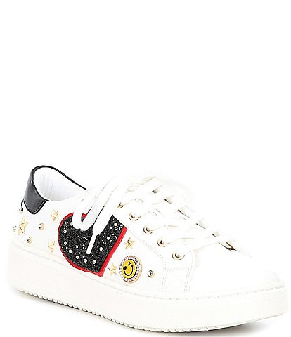 ALDO Polygonia Heart Applique Studded Sneakers
