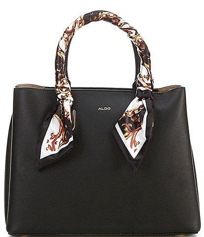 ALDO Tweedia Top Zip Tote Bag