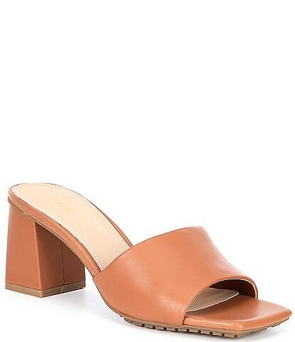 ALDO Velalith Square Toe Block Heel Sandals