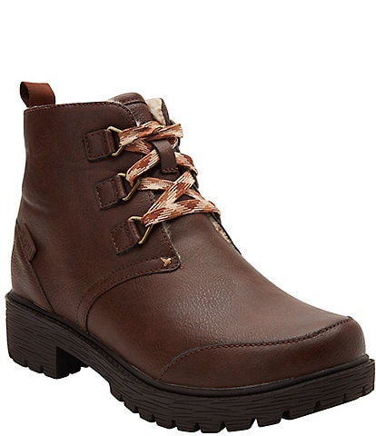 Alegria Cheri Water Resistant Lace Up Booties