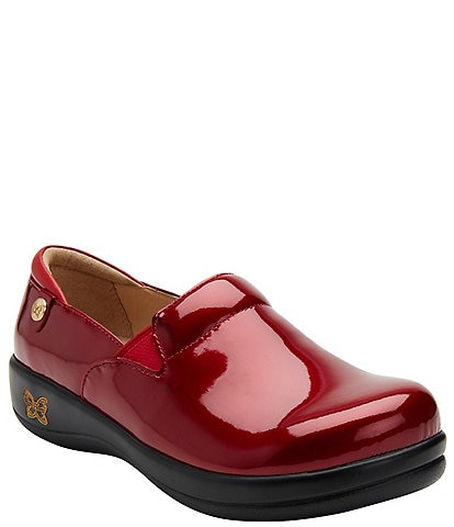 Alegria Keli Patent Leather Clogs