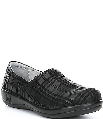 Alegria Keli Plaid To Meet You Slip Ons