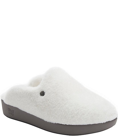 Alegria Leisurelee Faux Fur Shearling Slipper Clogs