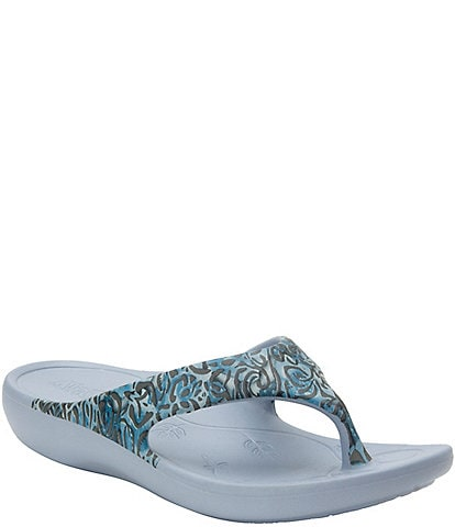 Alegria Ode Water Resistant Thong Sandals