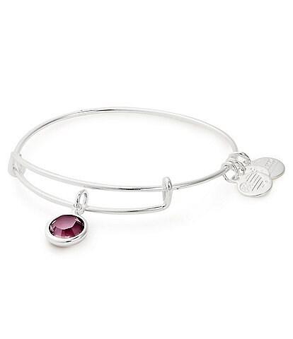 Alex and Ani Birthstone Bangle Bracelet