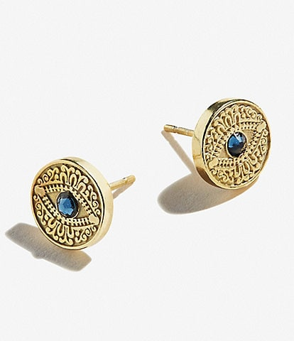 Alex and Ani Evil Eye Stud Earrings