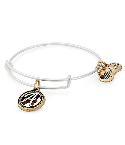 Alex and Ani Initial Charm Bracelet