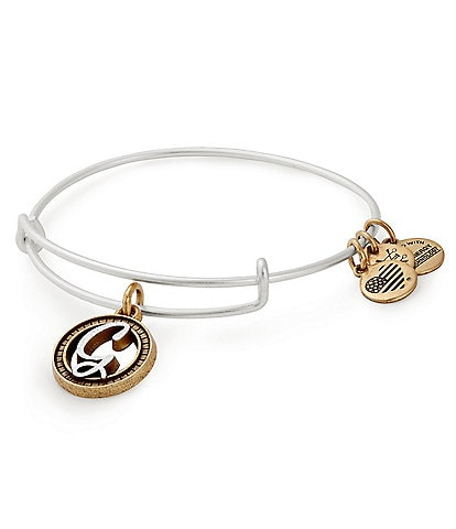 Alex and Ani Initial Charm Bracelet