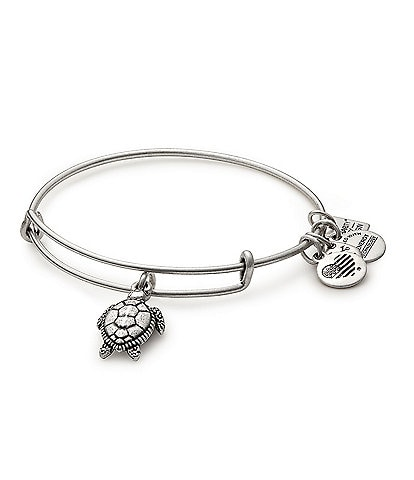 Alex and Ani Sea Turtle Charm Bangle Bracelet