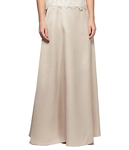 Alex Evenings Maxi Circle Skirt