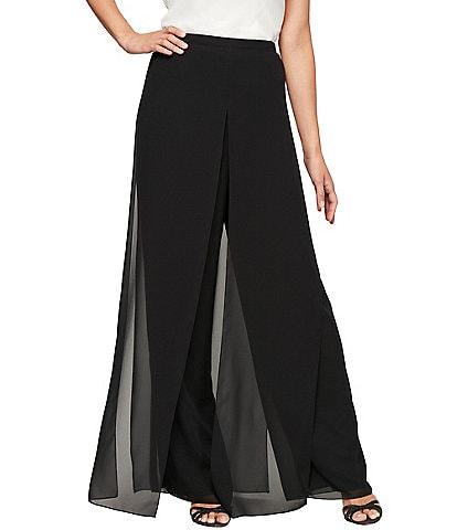 Alex Evenings Wide Leg Carwash Pant