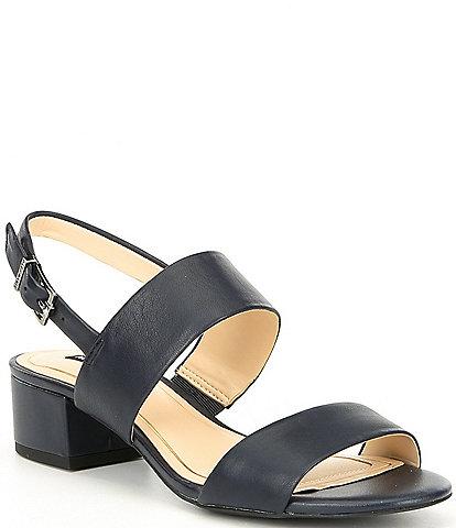 4d0131af6ec Alex Marie Calina Leather Block Heel Sandals