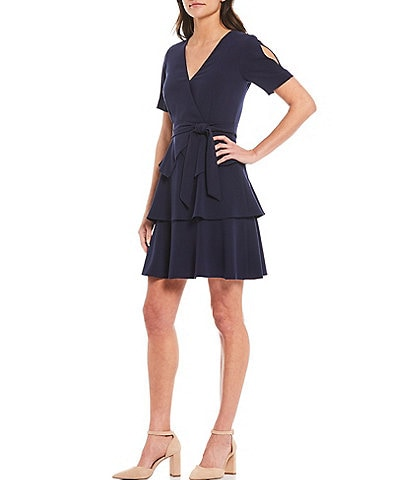 Alex Marie Cara Ruffle Tier Dress