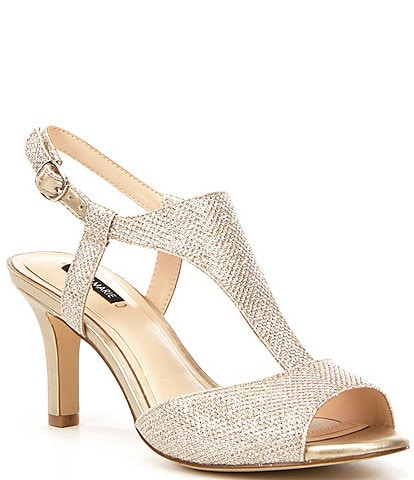 Alex Marie Giaddah Metallic Dress Sandals