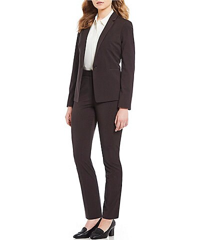 Alex Marie Ingrid Stretch Suiting Blazer Jacket & Terry Stretch Suiting Pant