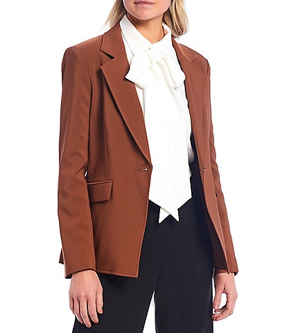 Alex Marie Karli Notch Lapel One Button Jacket