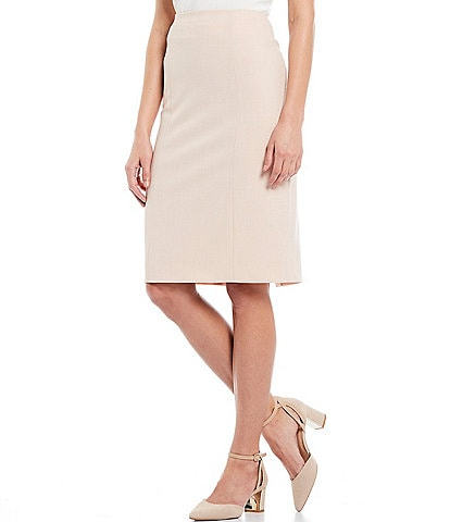 Alex Marie Micah Melange Machine Washable Pencil Skirt
