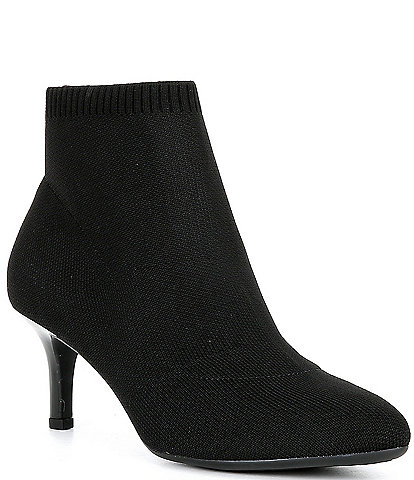 Alex Marie Noemi Stretch Knit Fabric Booties